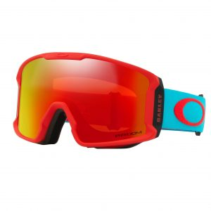 01 Oakley Line Miner XM (Red Caribbean Sea, Prizm Snow Torch Iridium