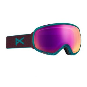 Ochelari snowboard ski Anon Tempest shimmer Sonar Pink Model fete