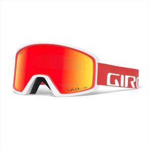 ochelari ski snowboard Giro Blok Vivid White Vivid Ember Zeiss