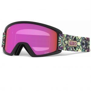 ochelari ski snowboard fete Giro Dylan Flash kaleidoscope Yellow Amber Pink