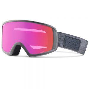 Ochelari snowboard ski fete Giro Gaze Flash Gray Amber Pink