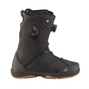 K2 Maysis double Boa Black boots snowboard 43.5 44.5