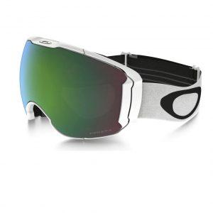 ochelari ski snowboard Oakley Airbrake XL Polished White Prizm Snow Jade Iridium