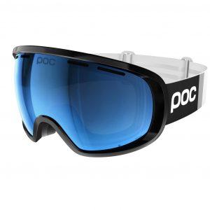 Ochelari ski snowboard POC Fovea Clarity Comp Uranium Black Spectris Blue ZEISS polarizati anti ceata
