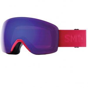ochelari ski snowboard Smith Skyline B4BC ChromaPOP Everyday Violet Mirror