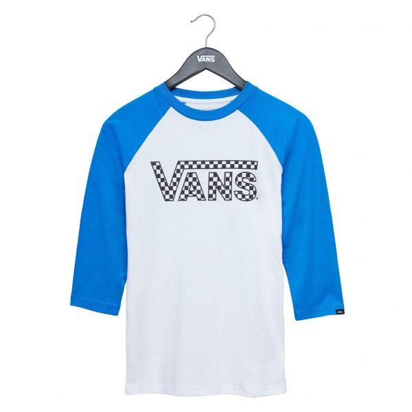 VANS BOYS CLASSIC RAGLAN BLUE XL baieti 10 14 ani xl