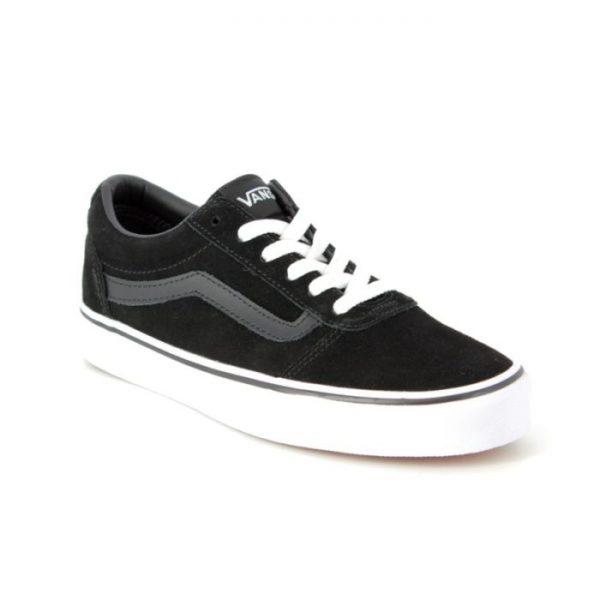 tenisi skate shoes Vans Ward Suede black/white 36.5 fete copii promotii