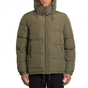 geaca iarna S L XL Volcom Artic Loon Army Green