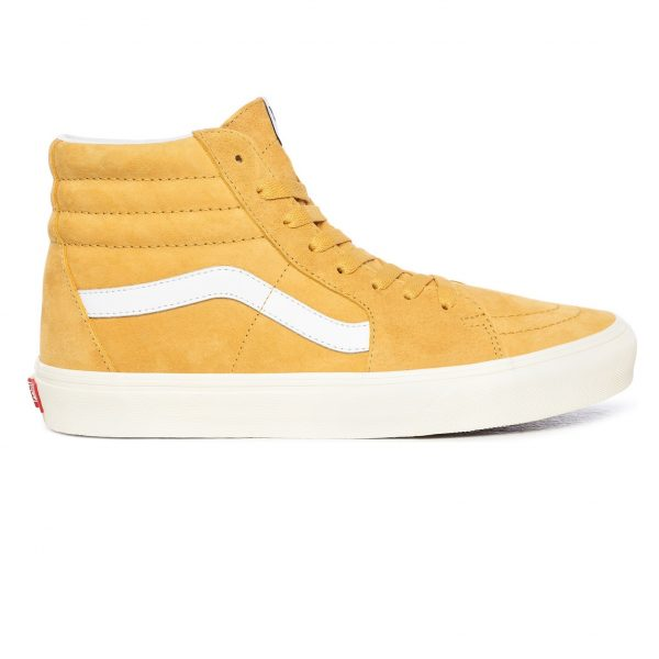 skate shoes baieti Vans SK8-Hi - True White Honey Gold 44